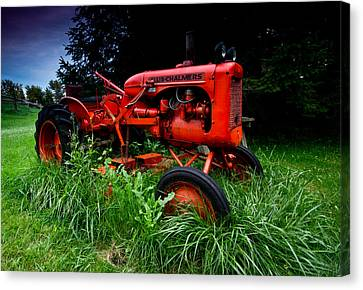 Allis Chalmers Tractor Canvas Print by Cale Best