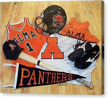 Alma High School Athletics Canvas Print by Chris Brown