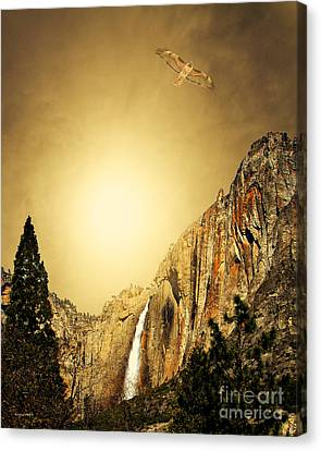 Almost Heaven Canvas Print by Wingsdomain Art and Photography