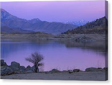 Alpenglow - Lake Isabella Canvas Print by Soli Deo Gloria Wilderness And Wildlife Photography