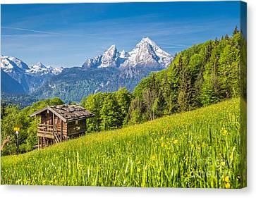 Alpine Beauty 2.0 Canvas Print by JR Photography