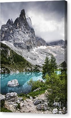 Alpine Lake Canvas Print by Yuri Santin