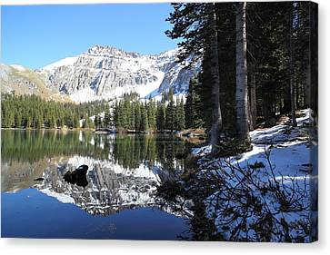 Alta Lakes Canvas Print by Eric Glaser