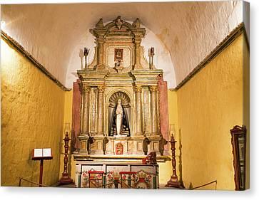 Altar In Santa Catalina Monastery Canvas Print by Jess Kraft