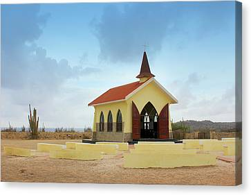 Alto Vista Chapel Of Aruba Canvas Print by Design Turnpike