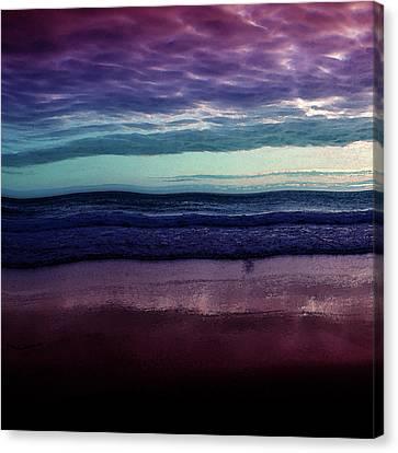 Always A Horizon Canvas Print by Bonnie Bruno