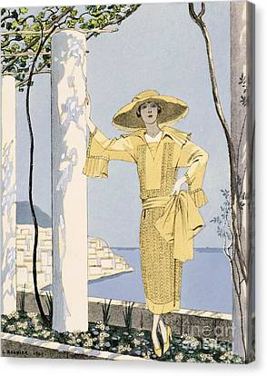 Amalfi Canvas Print by Georges Barbier