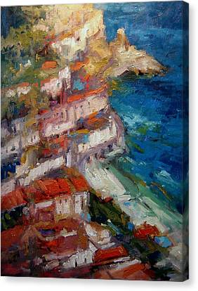 Amalfi Canvas Print by R W Goetting