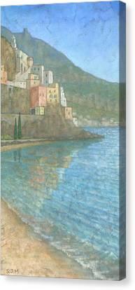 Amalfi Canvas Print by Steve Mitchell