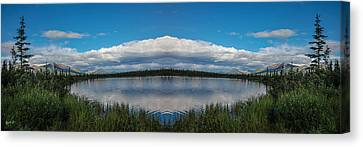 America The Beautiful - Alaska Canvas Print by Madeline Ellis