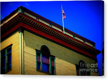 American Color Canvas Print by Linda Galok
