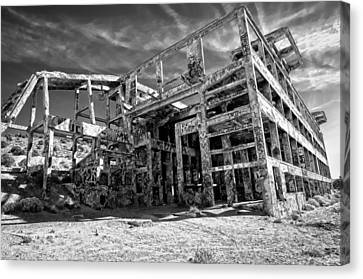 American Flat Mill Virginia City Nevada Canvas Print by Scott McGuire