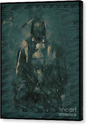 American Indian 1847 Canvas Print by RJ Aguilar