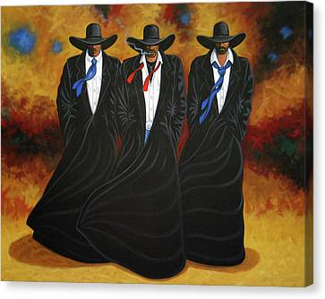 American Justice Canvas Print by Lance Headlee