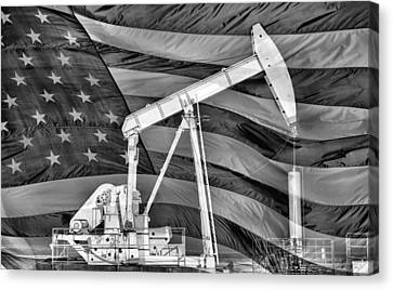American Oil Canvas Print by JC Findley