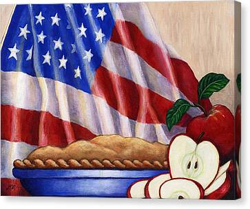 American Pie Canvas Print by Linda Mears