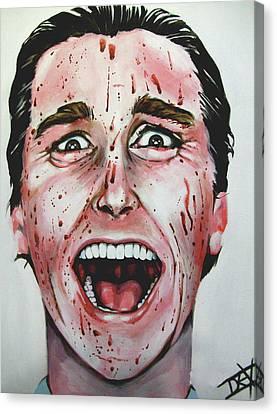 American Psycho Canvas Print by Danielle LegacyArts