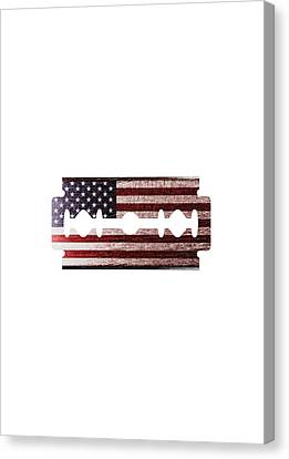 American Razor Canvas Print by Nicholas Ely