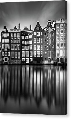 Amsterdam, Damrak II Canvas Print by Ivo Kerssemakers