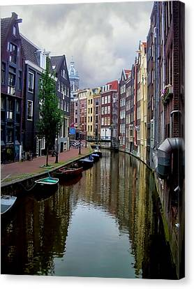 Amsterdam Canvas Print by Heather Applegate