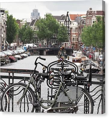 Amsterdam Canvas Print by Rona Black
