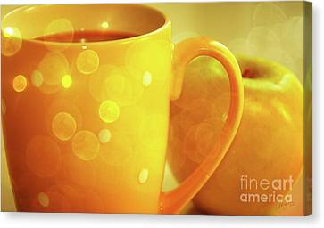 An Apple A Day Canvas Print by Cheryl Rose
