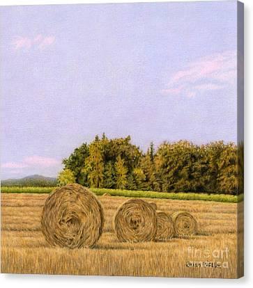 An Autumn Evening Canvas Print by Sarah Batalka