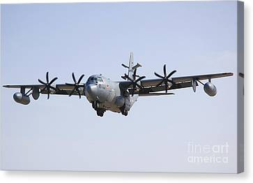 An Ec-130j Commando Solo Aircraft Canvas Print by Stocktrek Images