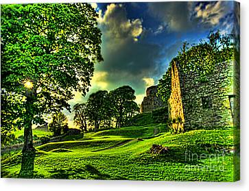 An Irish Fantasy Canvas Print by Kim Shatwell-Irishphotographer