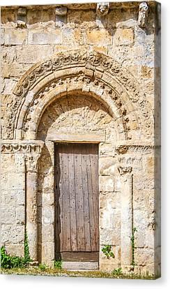 Ancient Stone Portal Canvas Print by Nila Newsom