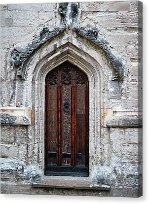 Ancient Door Canvas Print by Douglas Barnett