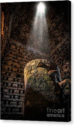 Ancient Dovecote Canvas Print by Adrian Evans