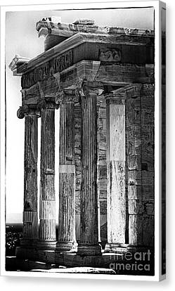 Ancient Greece Canvas Print by John Rizzuto