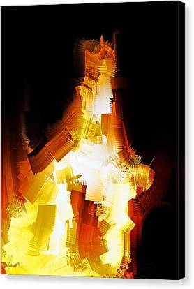 And The Angel Said Do Not Fear Canvas Print by Michael Durst
