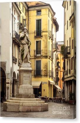 Andrea Palladio Statue Canvas Print by Prints of Italy