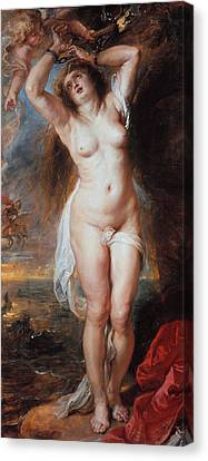 Andromeda  Canvas Print by Peter Paul Rubens