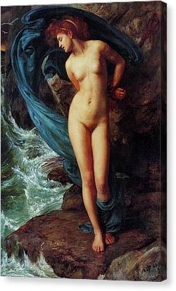 Andromeda Canvas Print by Sir Edward John Poynter
