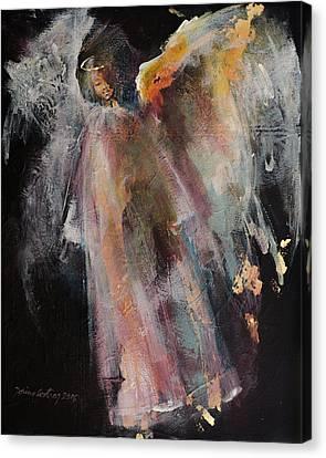 Angel 6 Canvas Print by Dorina Costras