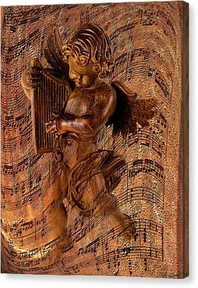 Angel Music Canvas Print by Phyllis Denton
