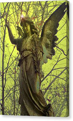 Angel Of Bless No. 01 Canvas Print by Ramon Labusch