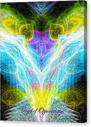 Angel Of Opportunities Canvas Print by Diana Haronis