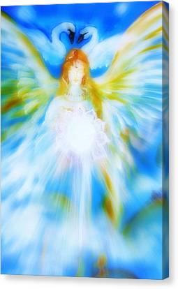 Angel Of Serenity Canvas Print by Alma Yamazaki