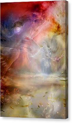 Angelic Inspiration Canvas Print by Freddy Kirsheh