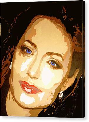 Angelina Canvas Print by Richard La Valle