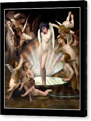 Angels Surround Cupid  Canvas Print by Gravityx9  Designs