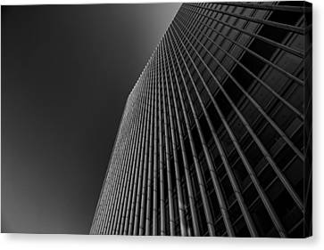 Angles Canvas Print by Martin Newman