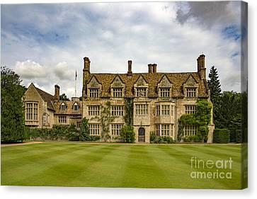 Anglesey Abbey Canvas Print by Svetlana Sewell
