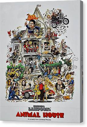 Animal House  Canvas Print by Movie Poster Prints