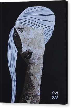 Animus No 99 Canvas Print by Mark M  Mellon