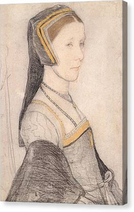 Anne Cresacre Canvas Print by Hans Holbein the Younger